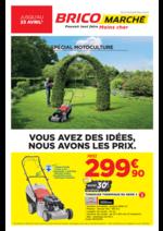Prospectus Bricomarché : Spécial Motoculture