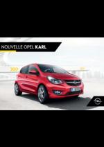 Promos et remises  : Nouvelle Opel Karl