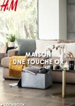 Promos et remises  : Lookbook maison Une touche or
