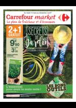 Prospectus Carrefour Market : Secrets de jardin
