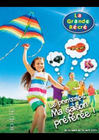 Catalogues et collections La grande Récré REDON : Le Printemps ! Ma saison préférée !