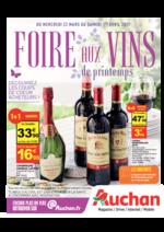 Prospectus Auchan : Foire aux vins de printemps