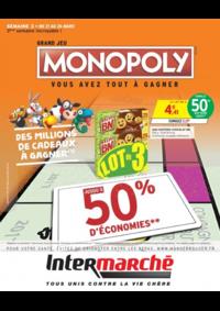 Prospectus Intermarché Super Rieux : Grand jeu Monopoly vous avez tout à gagner