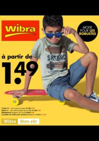 Prospectus Wibra Mons : Mode pour les robustes