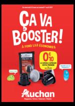 Prospectus Auchan : Ça va booster