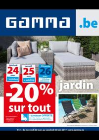 Prospectus GAMMA GERAARDSBERGEN : Jardin : -20% sur tout