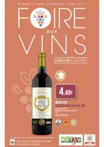 Promos et remises  : Foire aux vins