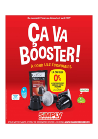 Prospectus Simply Market ARGENTEUIL : Ça va booster !