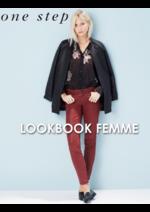 Catalogues et collections One Step : Feuilletez le lookbook femme