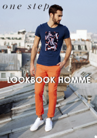 Catalogues et collections One step LE RAINCY : Feuilletez le lookbook homme