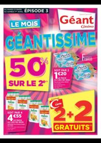 Prospectus Géant Casino BOISSY SAINT LÉGER : Le mois géantissime Épisode 3