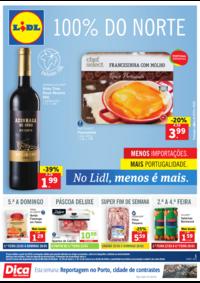 Folhetos Lidl Arruda Dos Vinhos : 100% do Norte