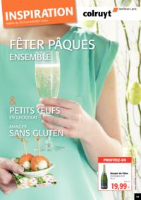 Prospectus Colruyt HALLE : Fêter Pâques Ensemble !