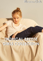 Catalogues et collections Massimo Dutti : Lookbook : Tropical Breeze - Girls Collection