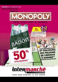 Prospectus Intermarché Hyper REDON : Grand jeu Monopoly vous avez tout à gagner Semaine 4
