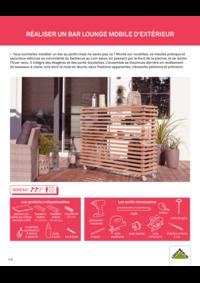 Guides et conseils Leroy Merlin Osny : Réaliser un bar lounge mobile