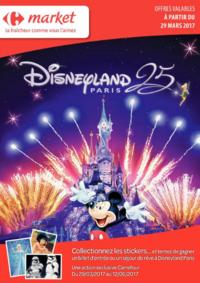 Prospectus Carrefour Market SPY : Disneyland Paris
