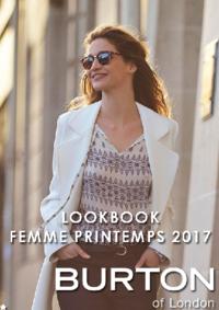 Catalogues et collections Burton PARIS : Lookbook femme printemps 2017