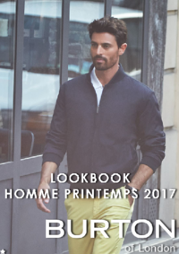 Catalogues et collections Burton PARIS : Lookbook homme printemps 2017