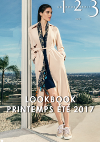 Catalogues et collections 1.2.3 PARIS 116 rue de Rennes : Lookbook printemps été 2017