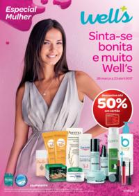 Folhetos Well's Saúde e Ótica Mozelos : Especial Mulher - Sinta-se bonita e muito Well's