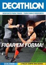 Folhetos DECATHLON : Nem imagina como é fácil ficar em forma!
