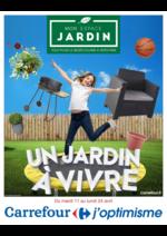 Prospectus Carrefour : Un jardin à vivre