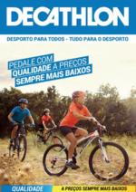 Folhetos DECATHLON : Pedale com qualidade a preços sempre mais baixos