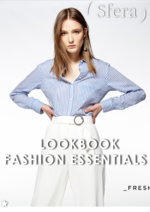 Catálogos e Coleções Sfera : Lookbook Fashion essentials