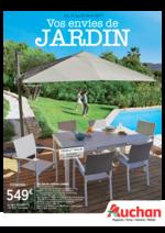 Prospectus Auchan : Vos envies de jardin