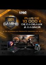Evénements LDLC : 100% Gaming, plus de 10 000€ de cadeaux à gagner
