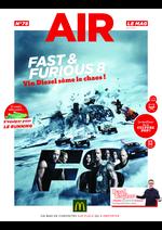 Promos et remises  : Air le Mag du mois de Avril 2017