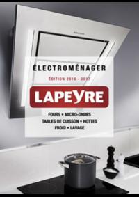 Catalogues et collections Lapeyre Coignières : Catalogue Électroménager 2016-2017
