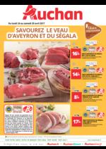 Prospectus Auchan : Savourez le veau d'Aveyron et du Ségala