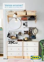 Folhetos IKEA : Vamos arrumar?