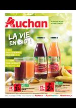Prospectus Auchan : La vie en bio !