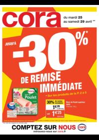 Prospectus Cora ARCUEIL : Jusqu'à -30% de remise immédiate