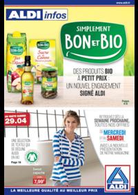 Prospectus Aldi Charenton-le-Pont : Simplement bon et bio