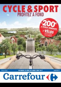Prospectus Carrefour Drancy : Cycle & sport Profitez à fond