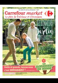 Prospectus Market Saulx Les Chartreux : Le bonheur au jardin