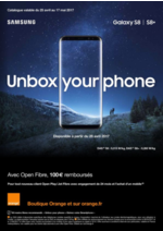 Prospectus Orange : Unbox your phone