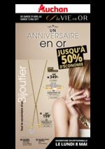 Prospectus Auchan : Un anniversaire en or
