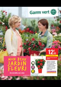 Prospectus Gamm vert NOZAY : Mon beau jardin fleuri