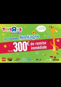 Promos et remises Toys R Us VILLEBON sur YVETTE : Plus de 300€ de remise immédiate