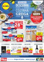 Folhetos Lidl : Descubra a cozinha grega