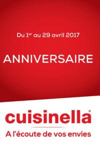 Prospectus cuisinella RUEIL-MALMAISON : Les offres Anniversaire