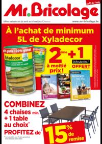 Prospectus Mr. Bricolage BRAINE L'ALLEUD Mont Saint Jean : 2ème à moitié prix + 1 wonderbox offert