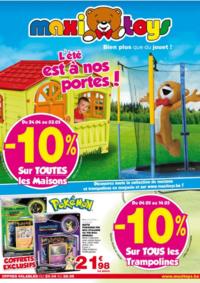 Prospectus Maxi Toys Evere  : L'été est à nos portes !