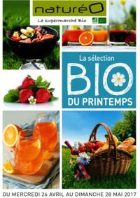 Prospectus NaturéO ORGEVAL : La sélection Bio du printemps