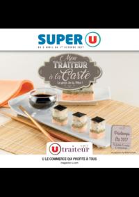 Menus Super U VILLE D'AVRAY : Mon traiteur à la carte